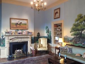 The Isaacs' Hunt Room