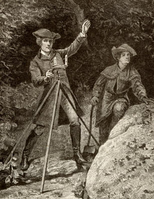 George Washington:Surveyor