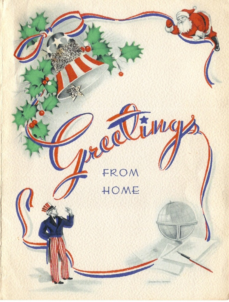 A WWII Era Christmas Card