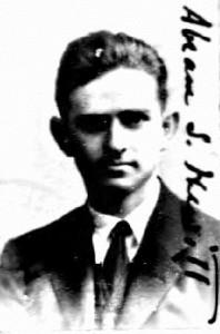 Abram Hewitt - US Passport App Photo [1923]