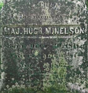 Maj. Hugh M. Nelson Gravesite