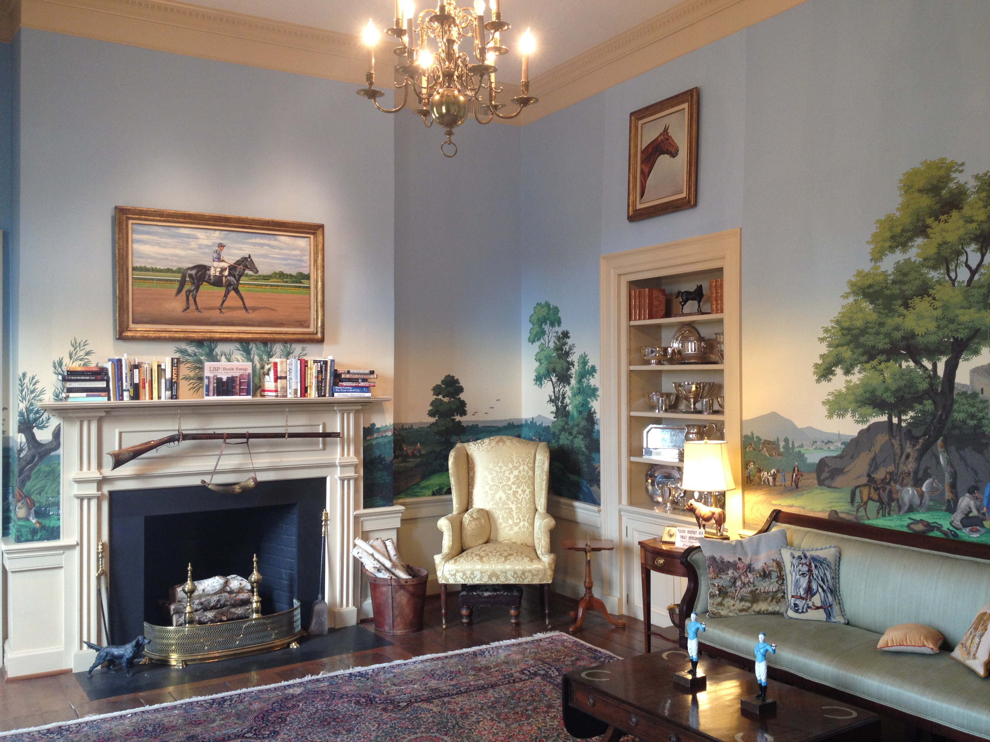 The Isaacs' Hunt Room