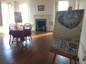 History Detectives Exhibit in the Master Bedroom